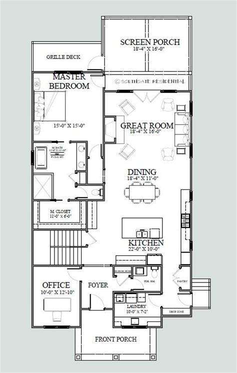 house plans for a narrow lot 17 best ideas about narrow lot house plans on