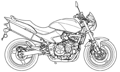 coloring page for the mouse and the motorcycle the mouse and the motorcycle coloring pages