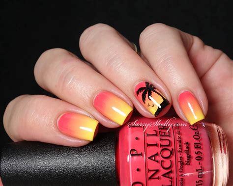 Sunset Nail