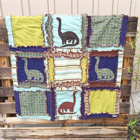 Size Quilts For Boys by Rag Quilt Baby Blanket Size And Blue Green On