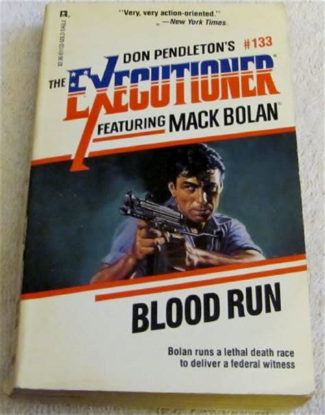 blood run caldridge series books mack bolan the executioner series used books from thrift