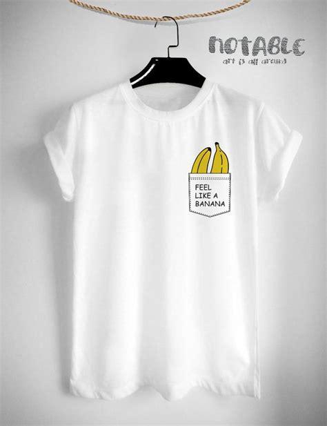 design t shirt tumblr pocket banana t shirt fashion hipster design tumblr