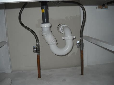 plumbing a kitchen sink bathroom sink plumbing flickr photo