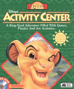 Disney Comics The King Read And Play disney s king activity center from cd rom access