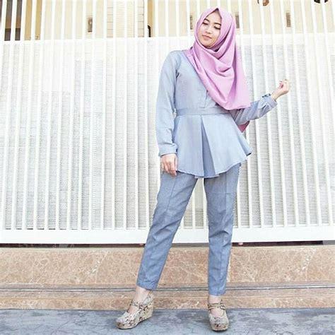 Celana Kerjakantorformal Perempuan Wanita Cewe 18 trend model baju terbaru simple stylish dan modis