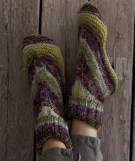 free knitting pattern house socks slipper knitting patterns in the loop knitting