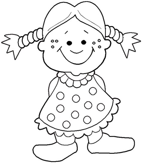 Baby Doll Cartoon Coloring Pages Baby Doll Coloring Pages