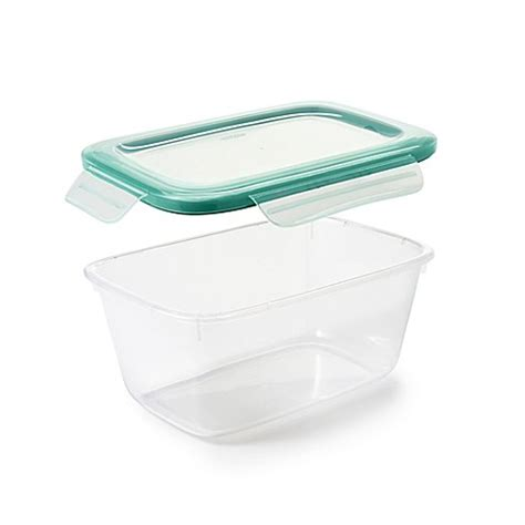 bed bath and beyond containers buy oxo good grips 174 6 2 cup snap plastic food storage