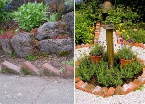 decorar jardines con ladrillos 13 ideas con ladrillos para el jard 237 n