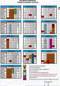Kalender 2018 Kementerian On Line Kalender Pendidikan Tahun 2017 2018 Lengkap Semua