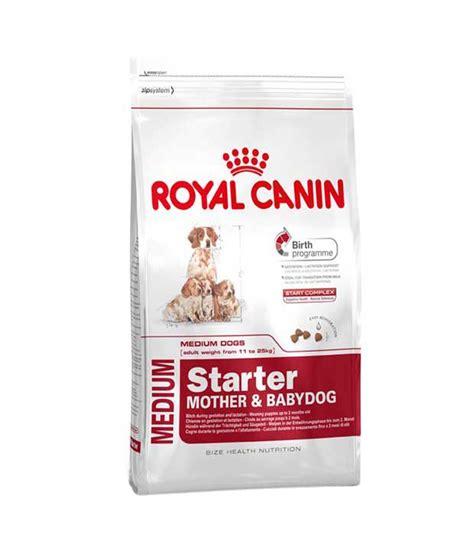 Dogfood Royal Canin Starter Babydog Makanan 2 royal canin medium starter babydog food 12kg pack of 2 buy royal canin medium