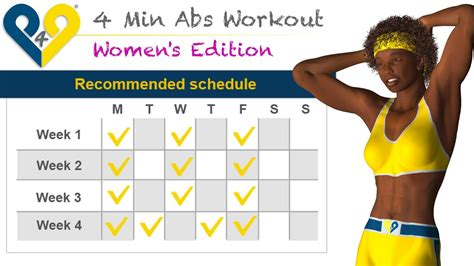 min abs workout  women interactive youtube