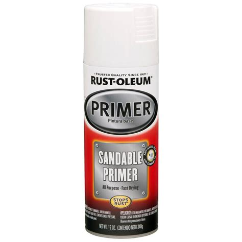 rust oleum stops rust 12 oz clean metal primer spray