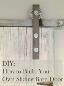 How To Make Your Own Sliding Barn Door Diy How To Make Your Own Sliding Barn Door
