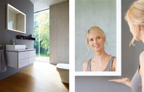 bathroom mirror l l cube led bathroom mirror by duravit just bathroomware