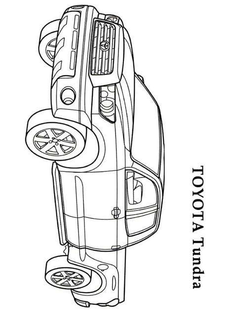 page toyota toyota coloring pages free printable toyota coloring pages