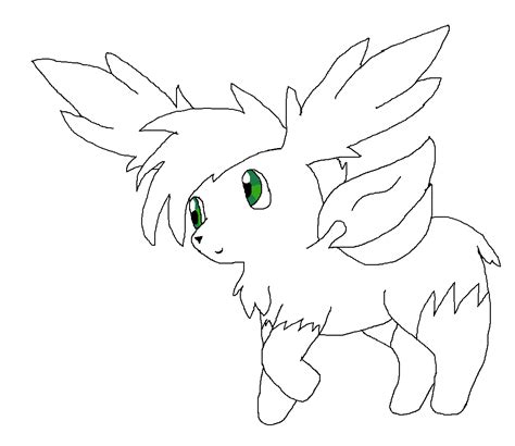 pokemon coloring pages shaymin best photos of sky coloring template sun and clouds