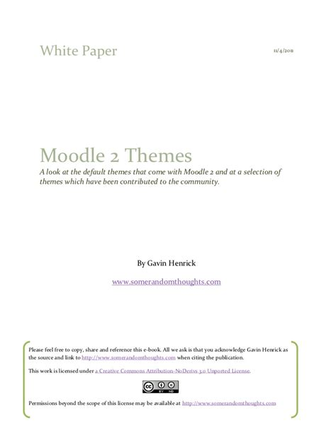 moodle themes not showing up a look at moodle 2 themes