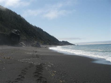 black sand california black sands picture of shelter cove humboldt