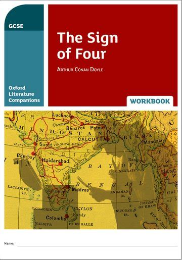 oxford literature companions the sign of four workbook oxford university press