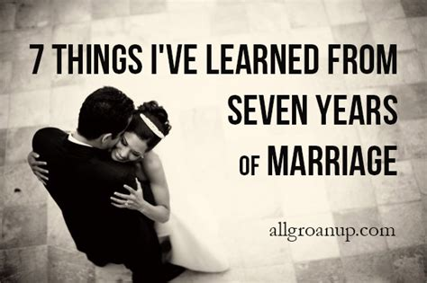 7 Things To Consider When Marrying A Younger by 7 Things I Ve Learned From Seven Years Of Marriage