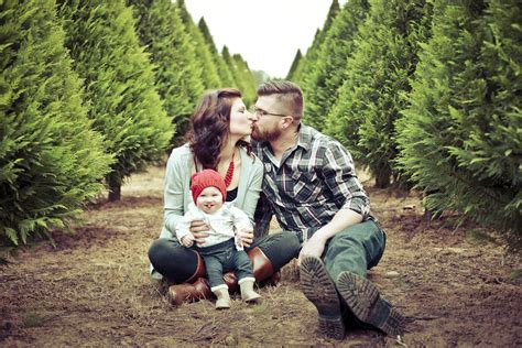 familyphotos of christmas tree cutting tree lot guide active family magazine