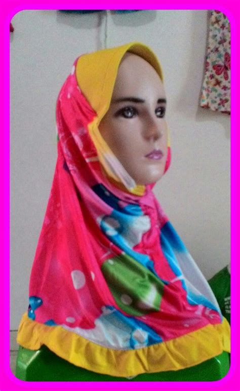 Jilbab Anak 10 Tahun Sentra Kulakan Jilbab Anak Karakter Lucu Murah Meriah 5000