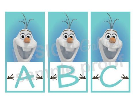 free printable olaf banner disney s frozen olaf happy birthday banner sign