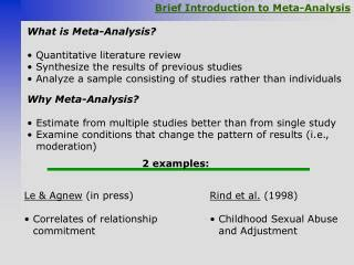 Meta Analysis As Quantitative Literature Review by Ppt The Newcastle Ottawa Scale Nos For Assessing The Quality Of Nonrandomized Studies In
