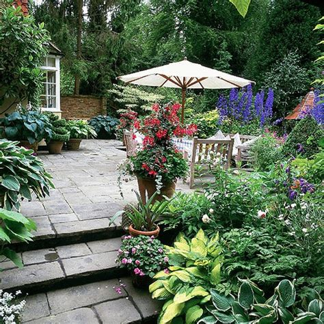 Patio Designs For Small Gardens Patio Garden Ideas