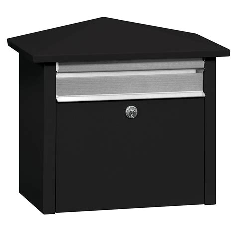 architectural mailboxes oasis jr black post mount or