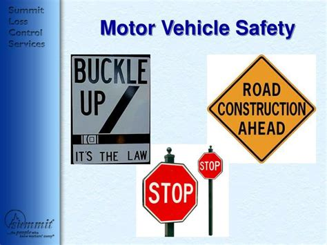 motor vehicle safety act ppt motor vehicle safety powerpoint presentation id 42821