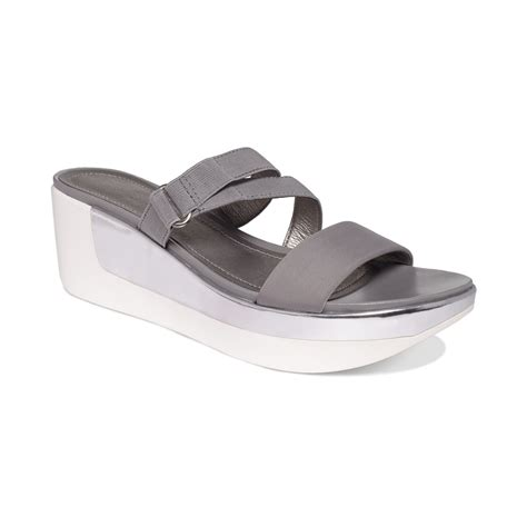 kenneth cole reaction wedge sandals kenneth cole reaction pepe time stretch platform wedge