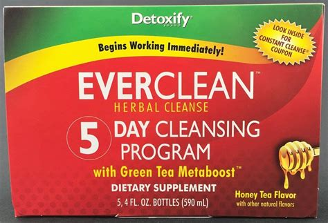 5 Day Detox Program by Clean Detoxify 5 Day Detox Program Myxedup