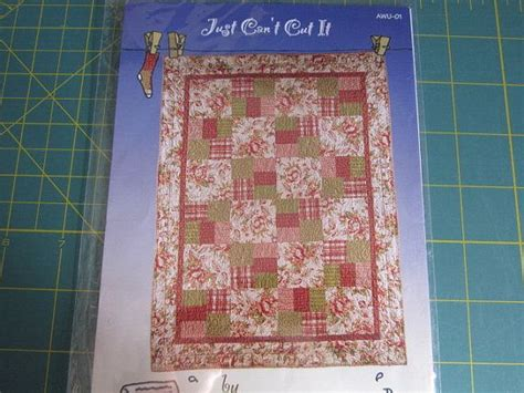 quilt pattern just can t cut it pin by lisa piekarski on quilts to make pinterest