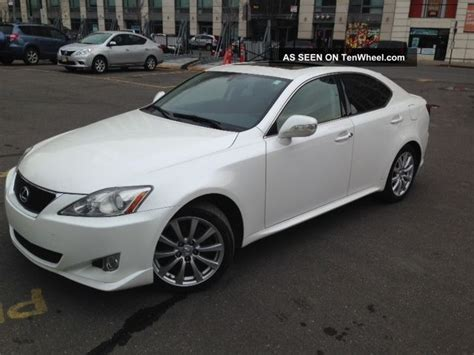 2008 lexus is 250 with manual transmission