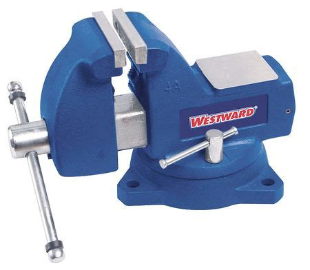 8 bench vise westward bench vise mechanics swivel 8 1 4 in 10d709
