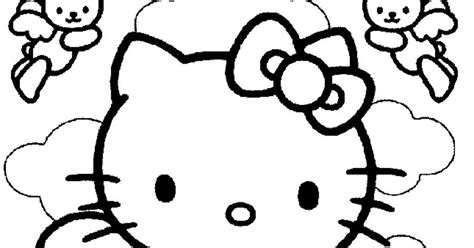 angel kitty coloring pages hello kitty angel coloring pages coloring pages