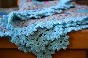 crocheted edging all about crochet ideas and tool
