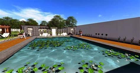 jasa desain taman rumah design kolam renang pribadi jasa interior 3d murah gambar konsep desain 3d taman