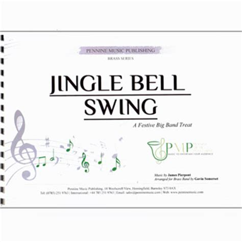 jingle bells swing jingle bell swing brass sheet