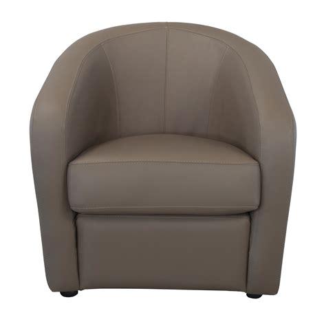 fauteuil cuir cabriolet fauteuil cabriolet en cuir avec coussin d assise d 233 houssable pungi paolino sofa port offert