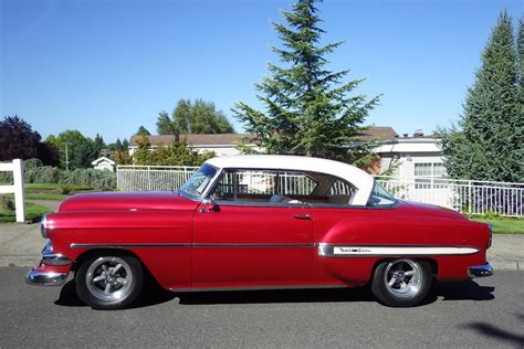 1954 chevy bel air hard top 1954 chevrolet bel air custom hardtop 187201