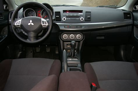 cars updates mitsubishi lancer 2010 interior