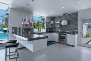 Kitchen Backsplash Designs 2014 Einrichten Mit Grau Blau Und Wei 223 Frisch Und Modern