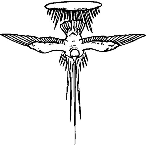 holy spirit coloring page sheets coloring pages