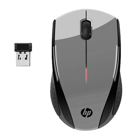 hp x3000 wireless mouse 110y silver retail d kan company