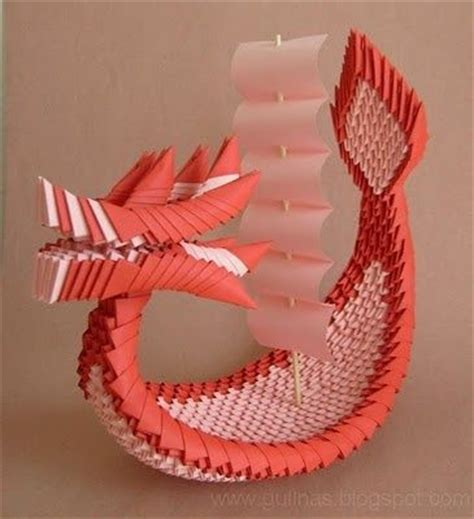 3d origami dragon boat tutorial 278 best 3d origami images on pinterest modular origami