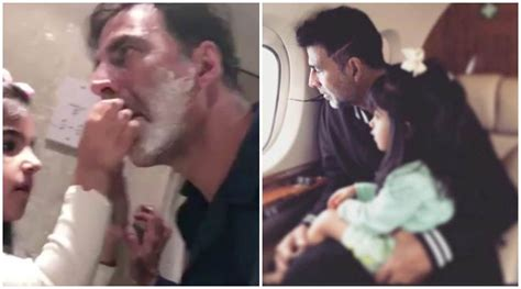 Akshay Kumar shares the cutest father-daughter video on ...