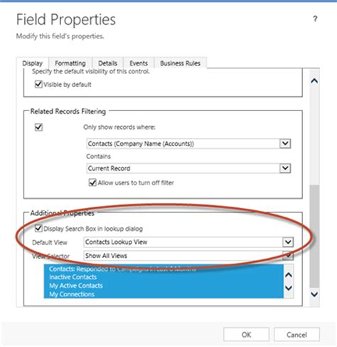 Look Up Records Ms Crm 2013 Lookup View Filter